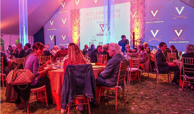 Portfolio . Lighting and Tent Decor . Projection . UVA