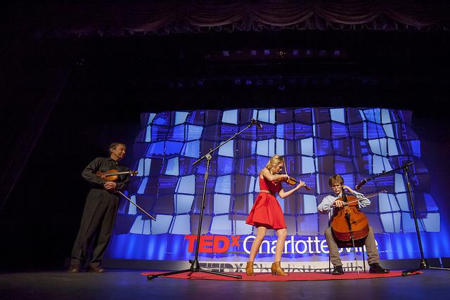 Portfolio . Live Events . TEDxCharlottesville stage