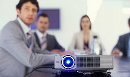 On-Site Audio Visual Services . Conference Boardroom