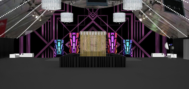 Event Design Twenties Rendering