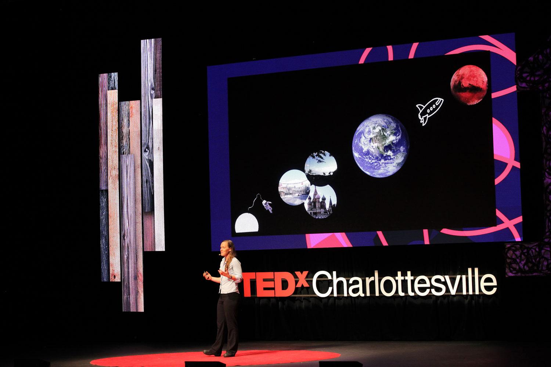 TEDxCharlottesville LED Video Wall