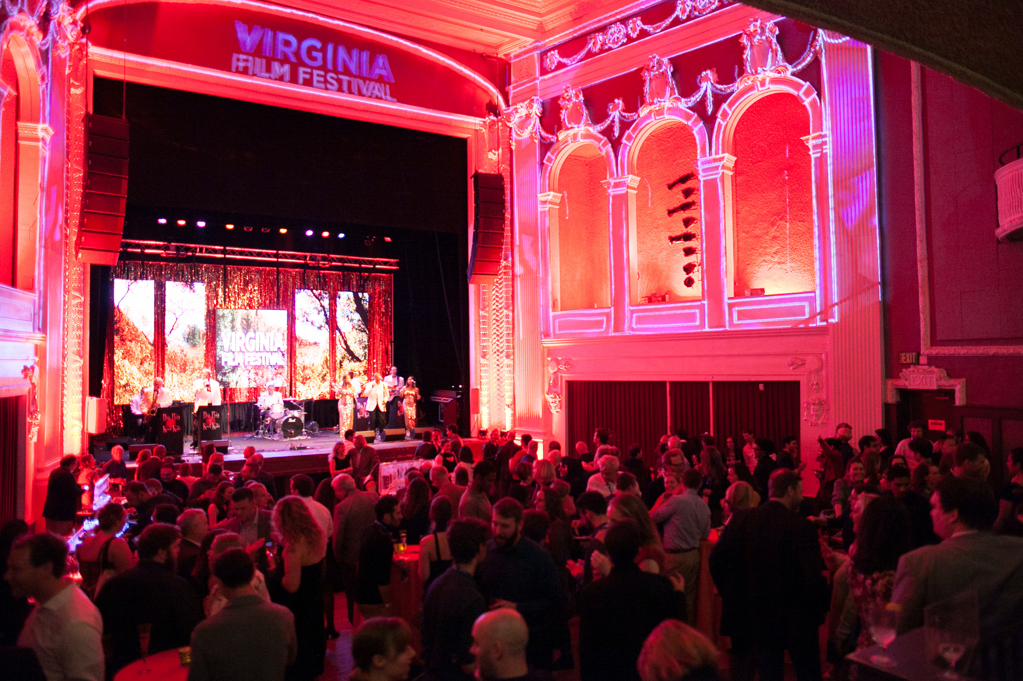 Virginia Film Festival LED Wall & Projection Mapping