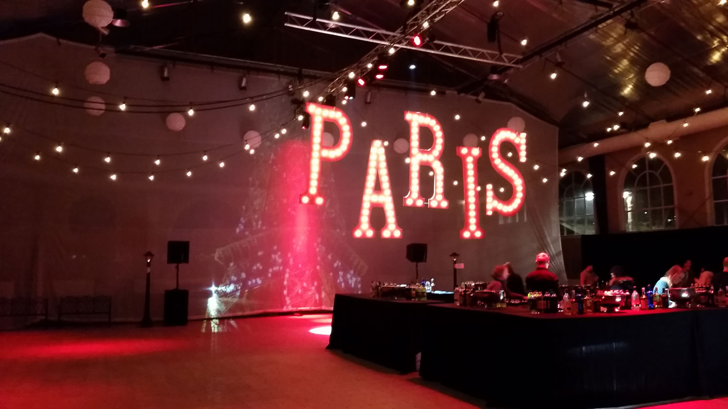 Custom Marquee Letters Paris