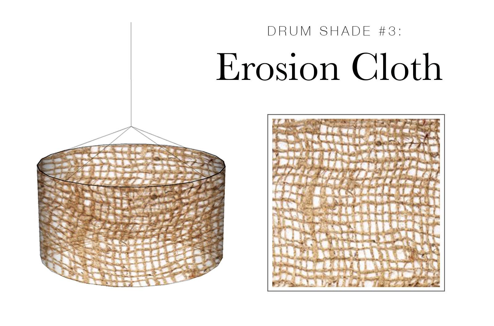 Drum Shade #3: Erosion Cloth