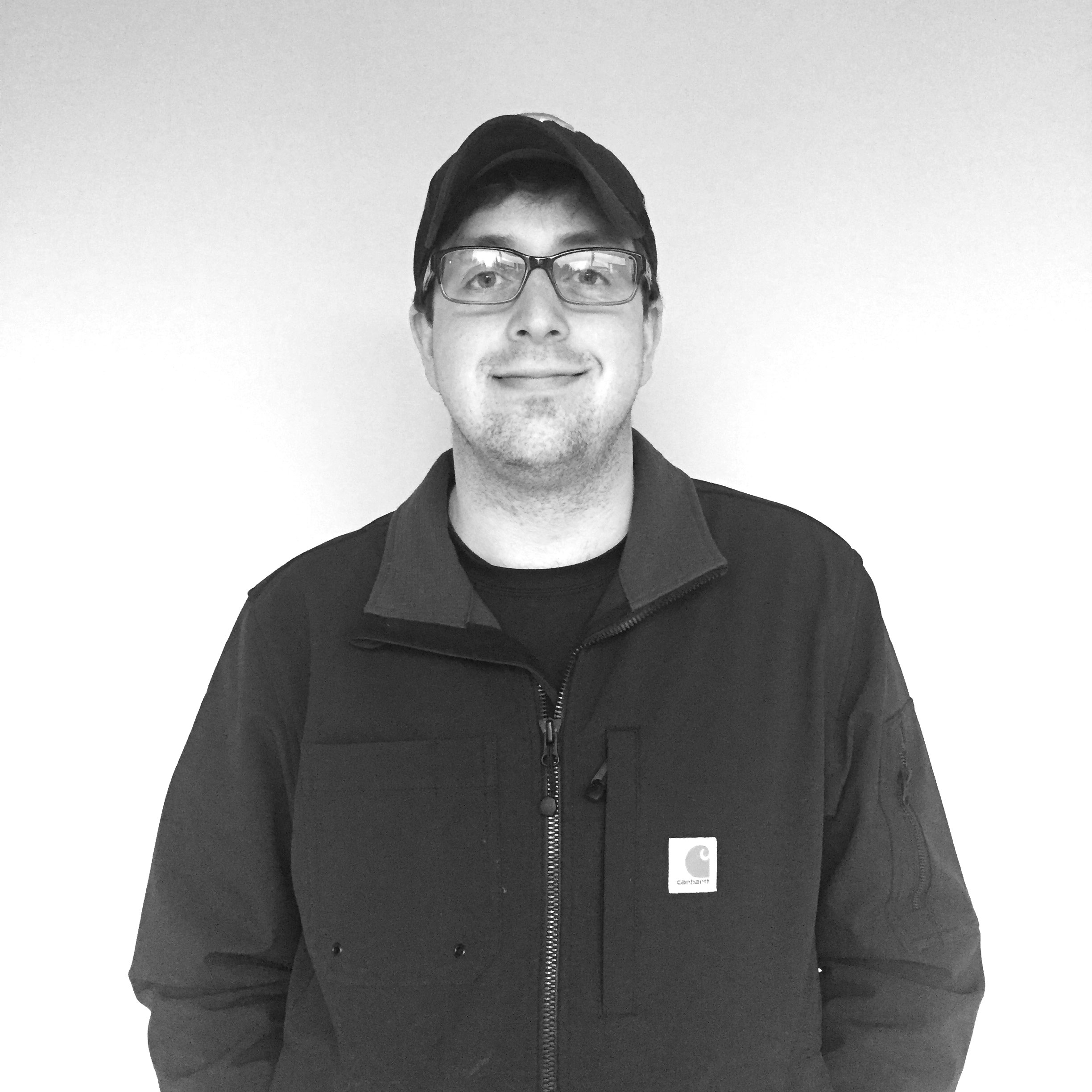 CARL MILLIGAN - AV Project Manager    Hidden Talent/Hobby:  Airbrushing   Favorite Color:  Tennessee Orange   Marvel Alter-Ego Superpower:  Eidetic memory   Favorite thing about working with The AV Co.:  Having a new job every day