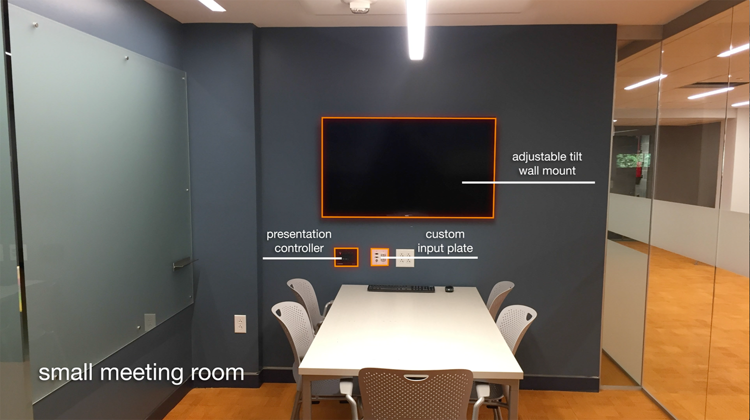 Small Meeting Room (Total Advising Center AV System Design & Installation