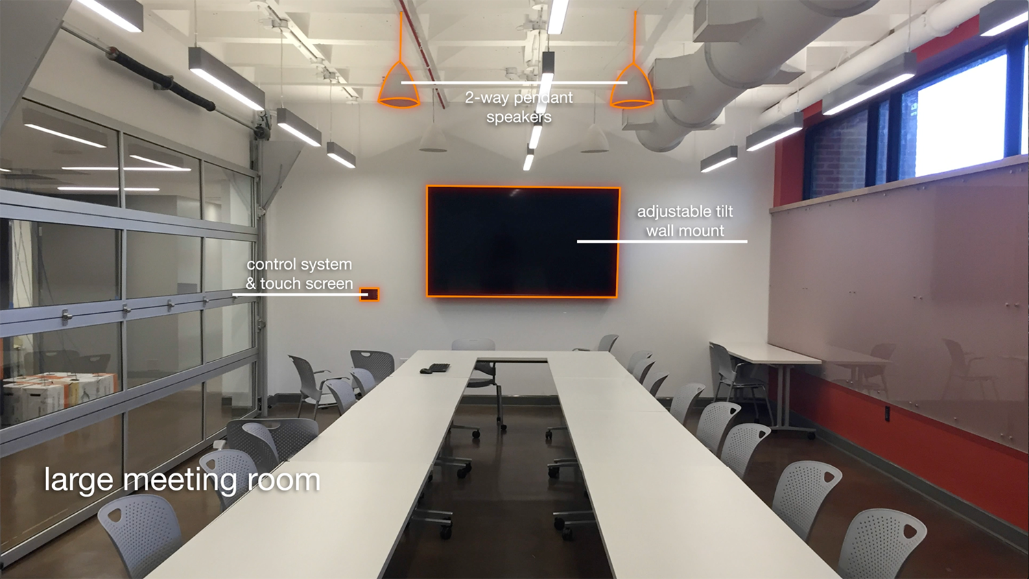 Large Meeting Room (Total Advising Center AV System Design & Installation)