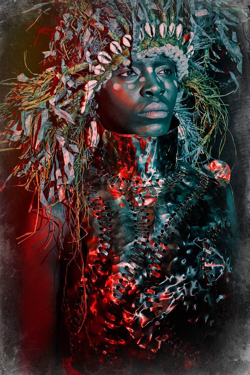 Anna-Maria Nabirye by Peter Warrick