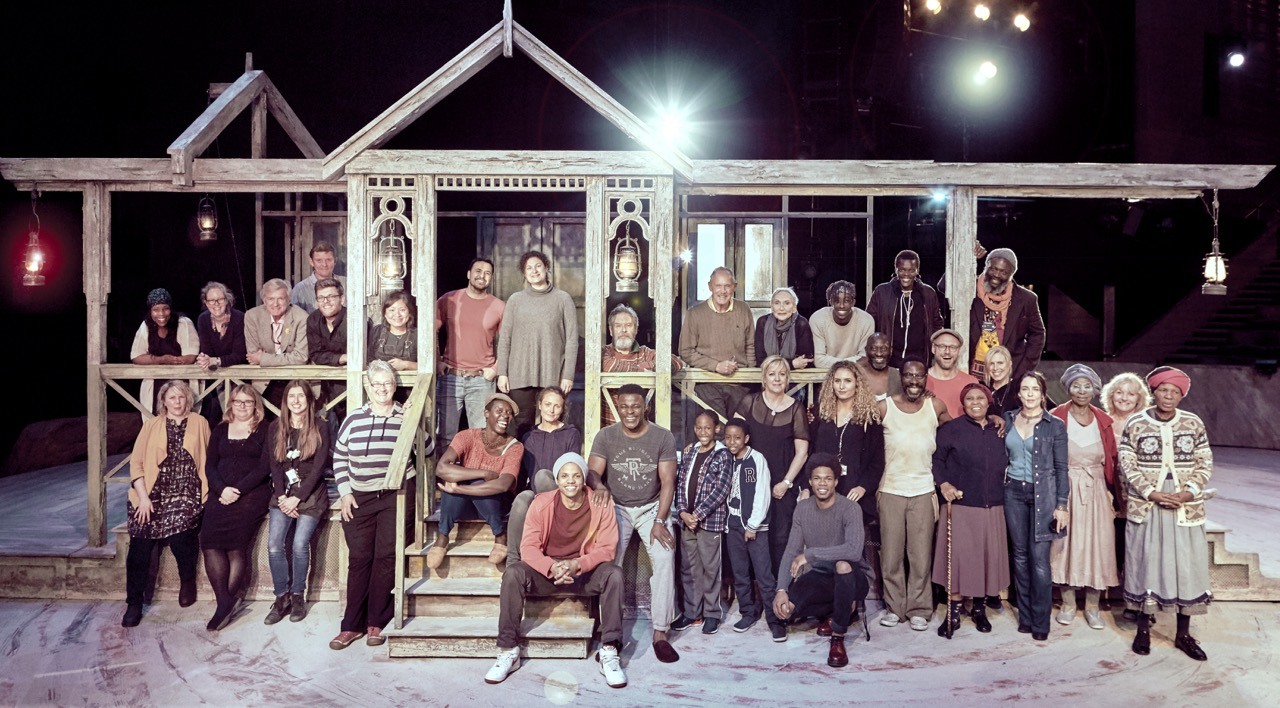 Cast & Team of Les Blancs National Theatre