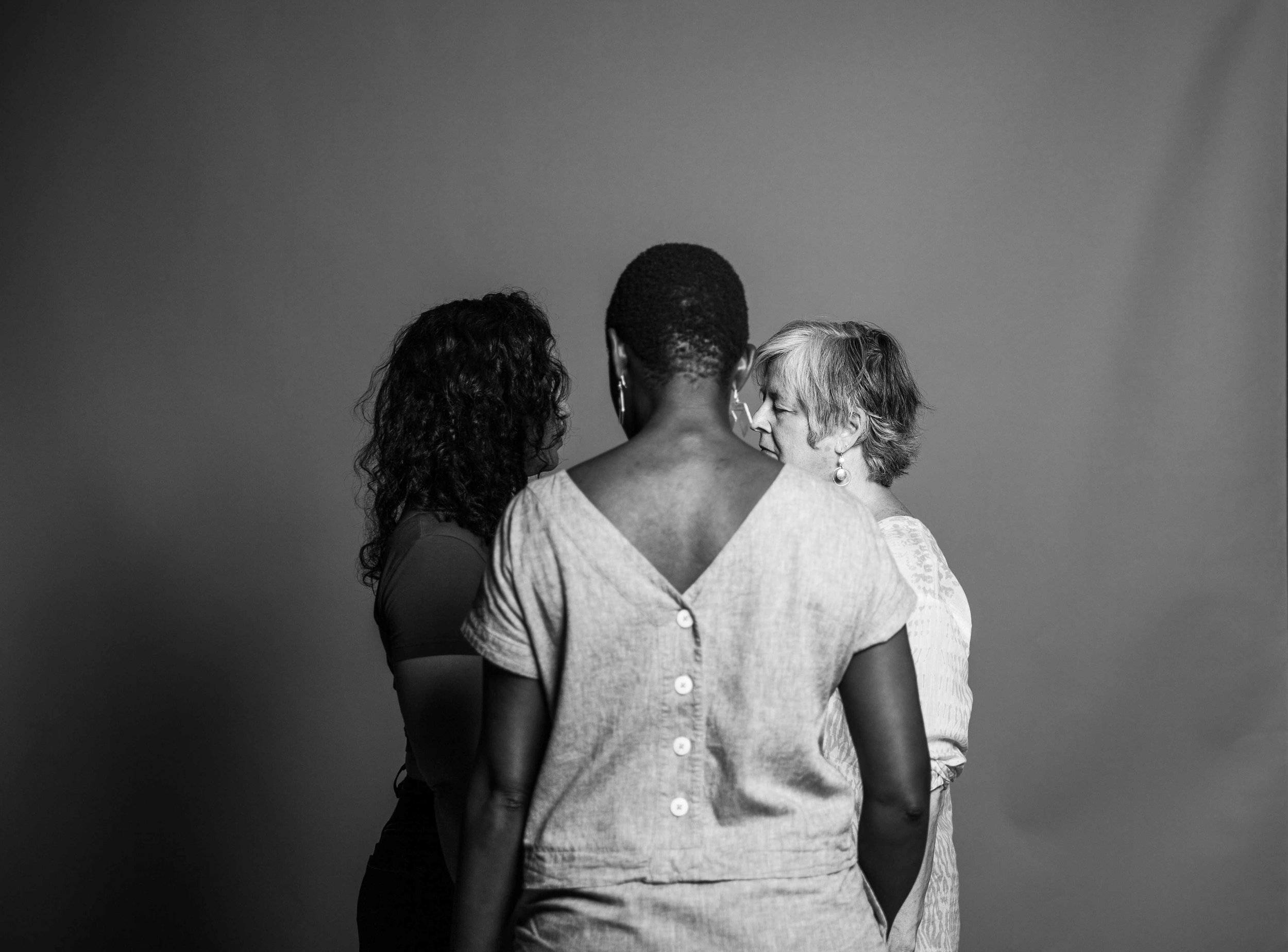 UP IN ARMS   Using ritual, photography and immersive theatre practice to create intimate conversation and radical social change.  Up In Arms is a culmination of our work as activists, creative collaborators, black and white women respectively and friends.