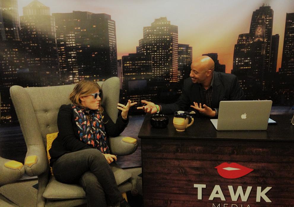 live at Boston HUBweek 2016 for Tawk Media