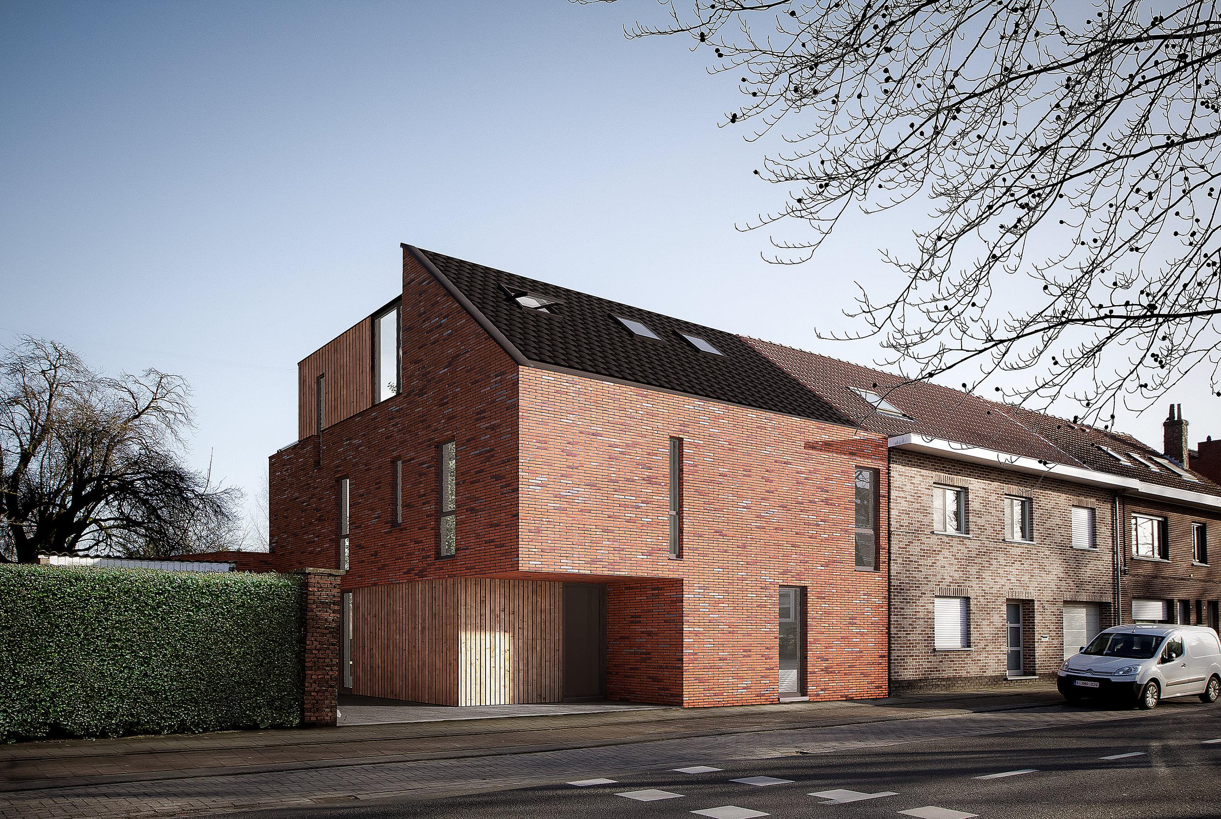 ontwerp: architect Jef Van Oevelen