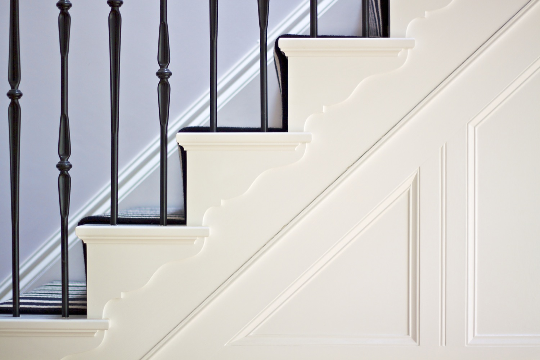 Wooden Stair Case detail