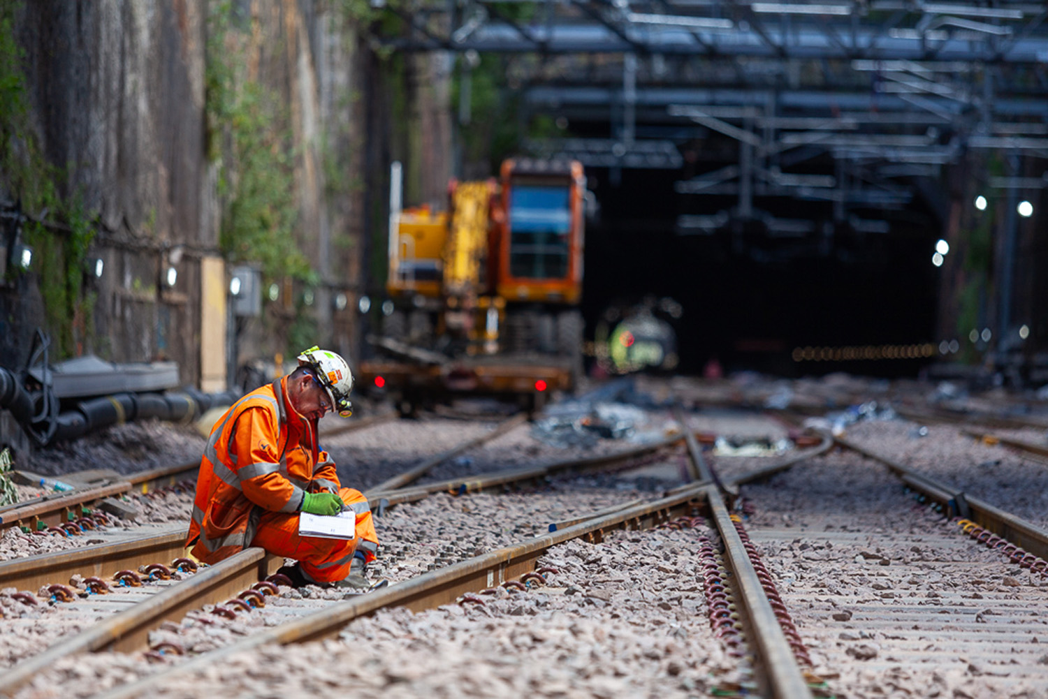 Liverpool Lime Street Signalling Works