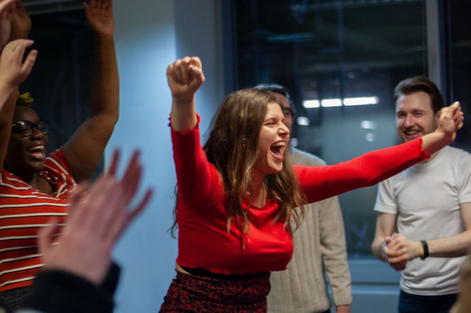 Improv for business: How pretending to be a wardrobe could unlock a new career pathway