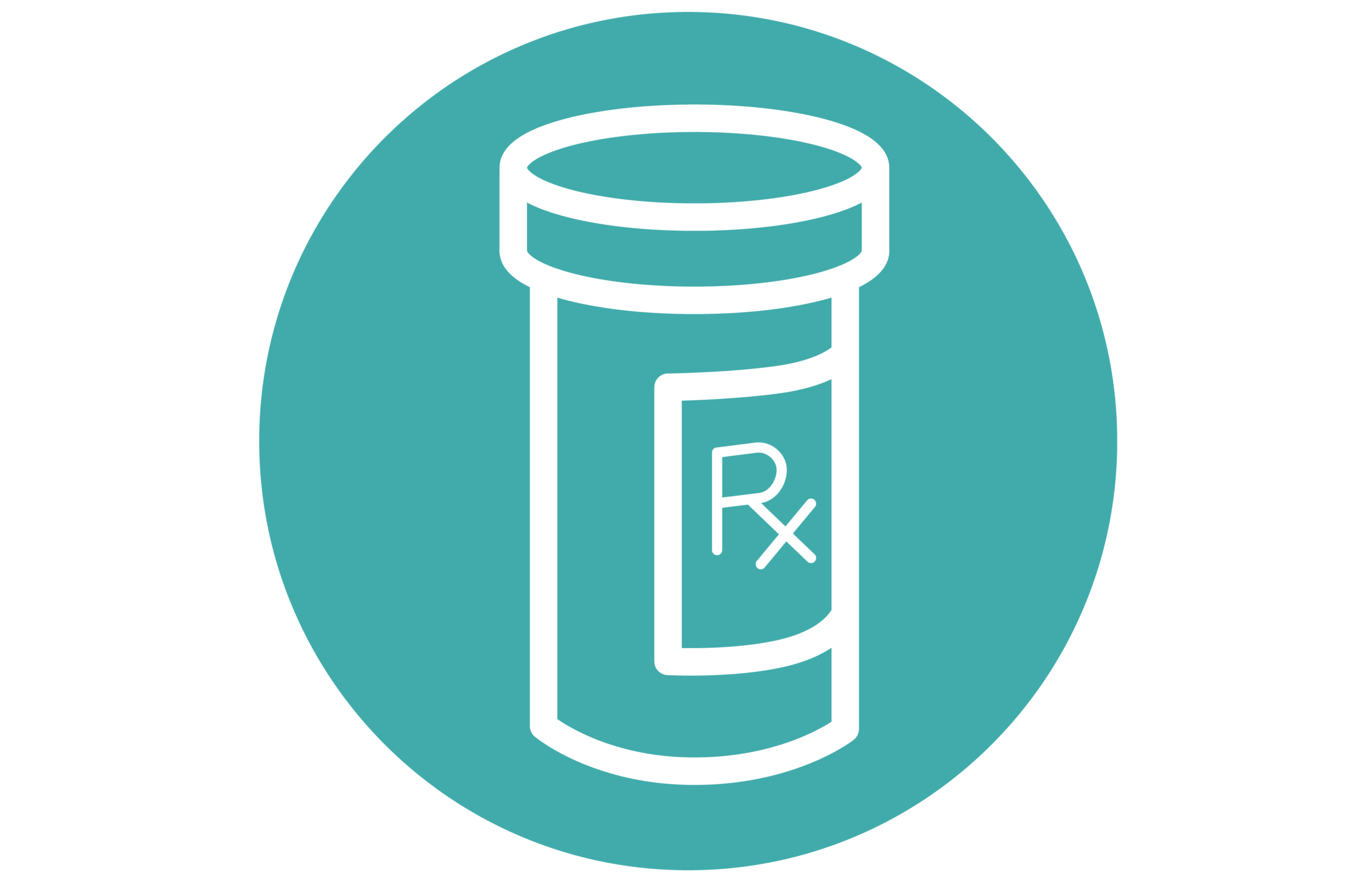 graphic of a prescription bottle