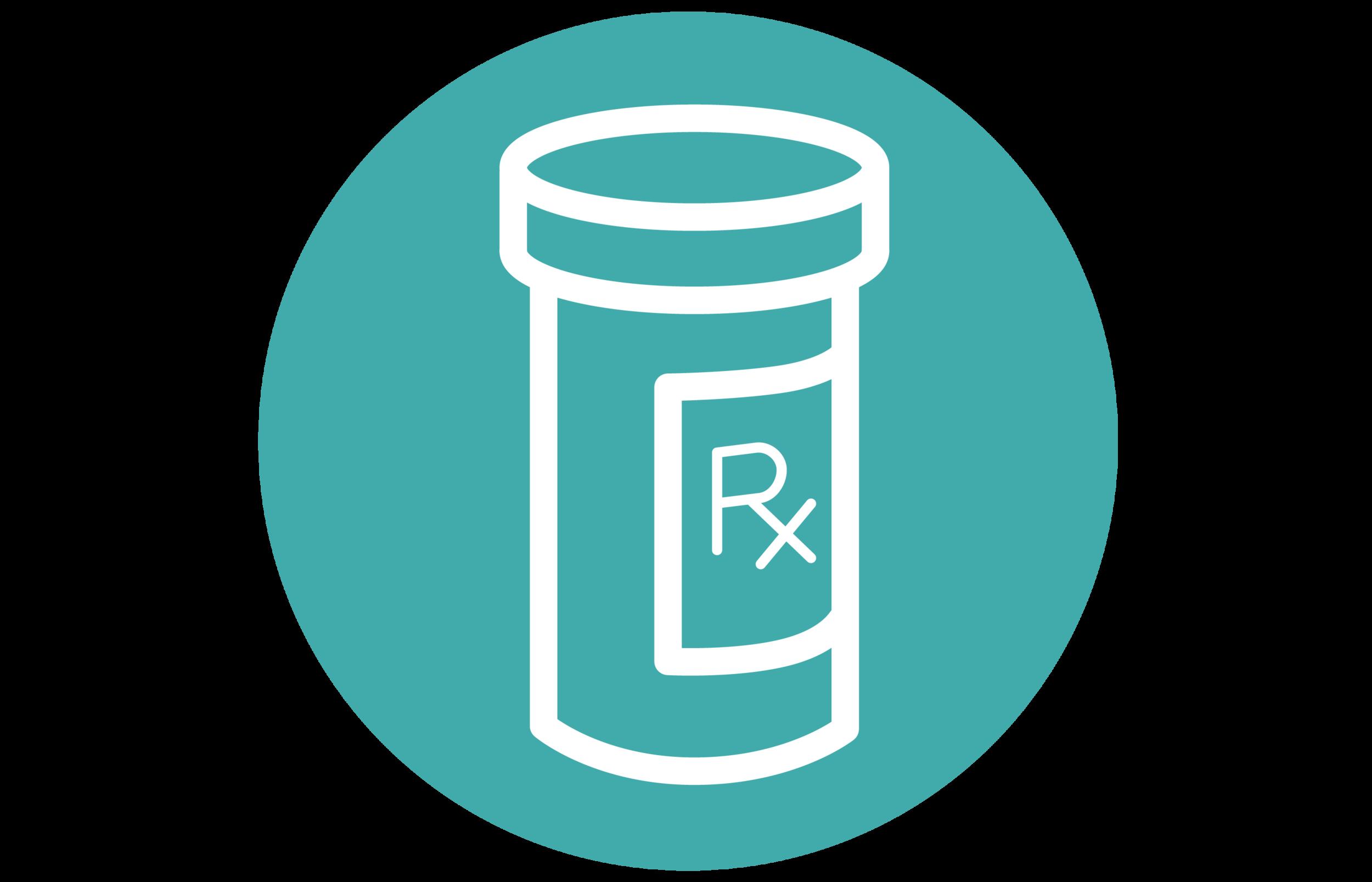graphic of a prescription bottle