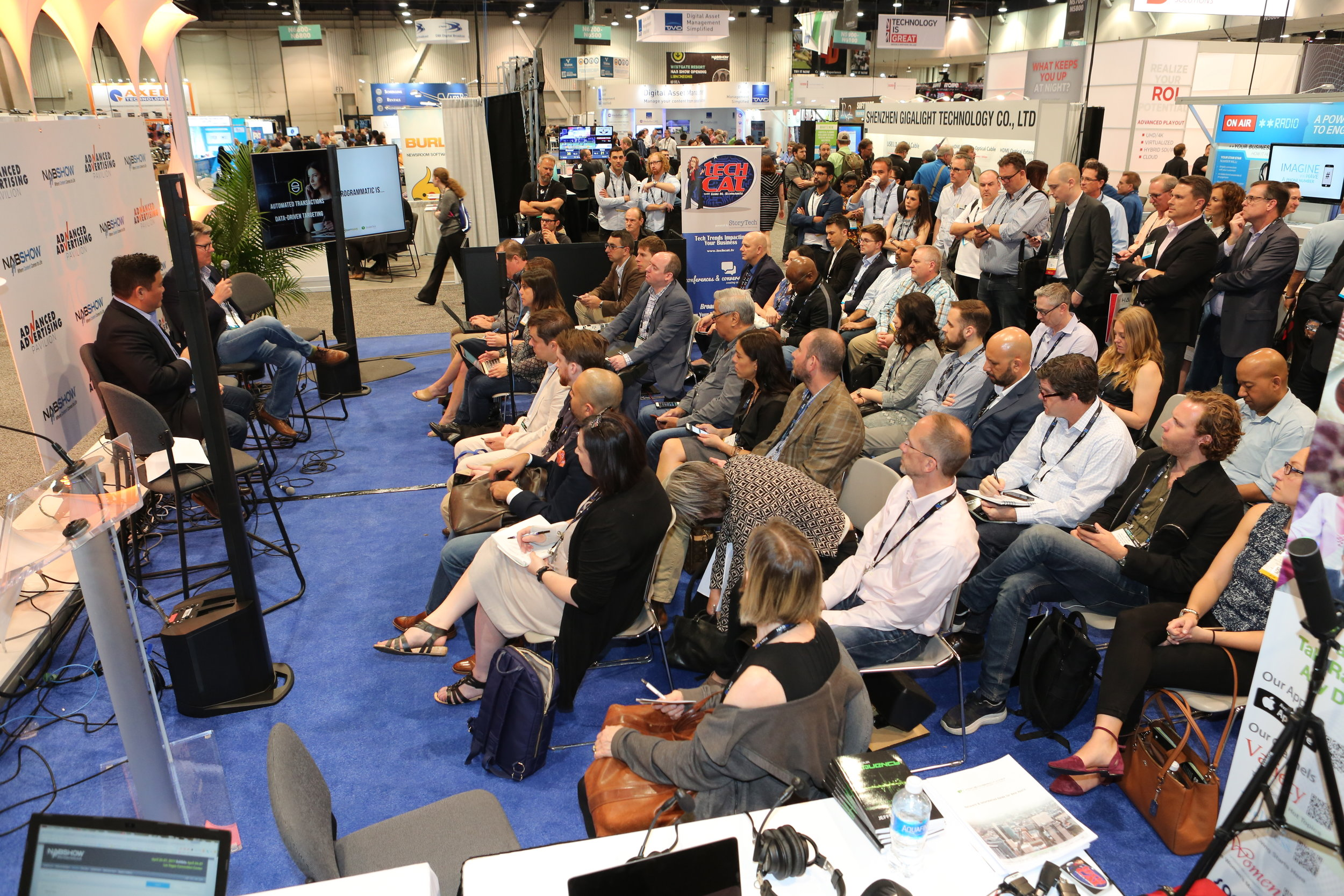 Advanced Advertising Pavilion at the 2017 NAB Show (credit:    Robb Cohen Photography and Video )