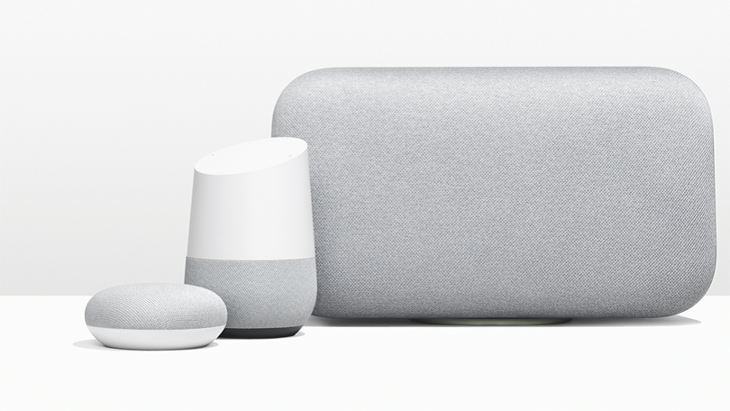 Google Home product line, competing in the Voice First Revolution