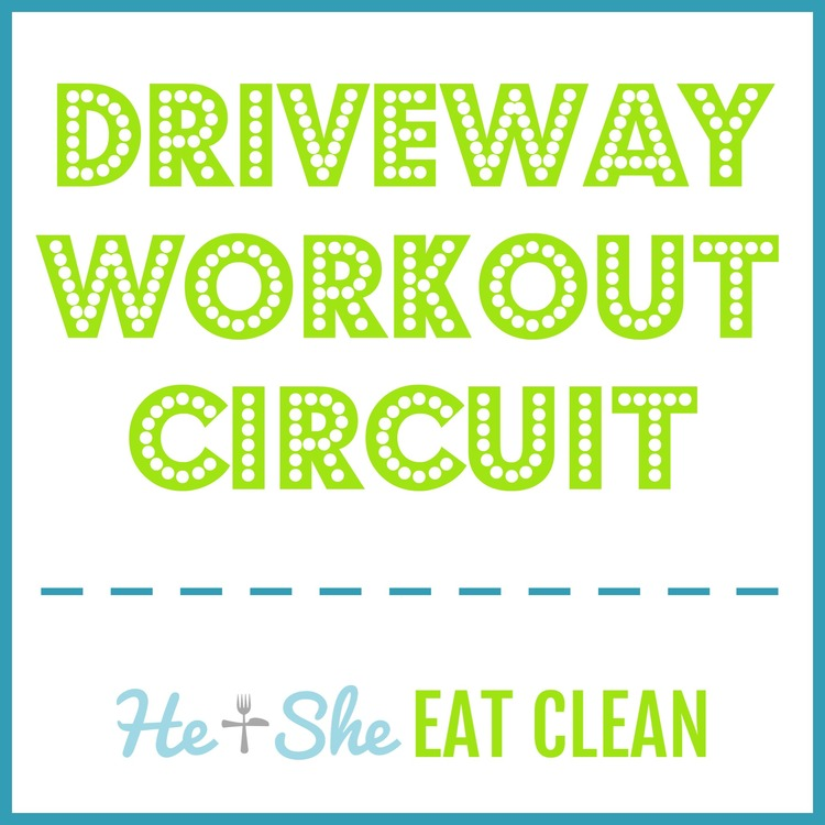 Driveway Workout Circuit: At-Home Workout Routine