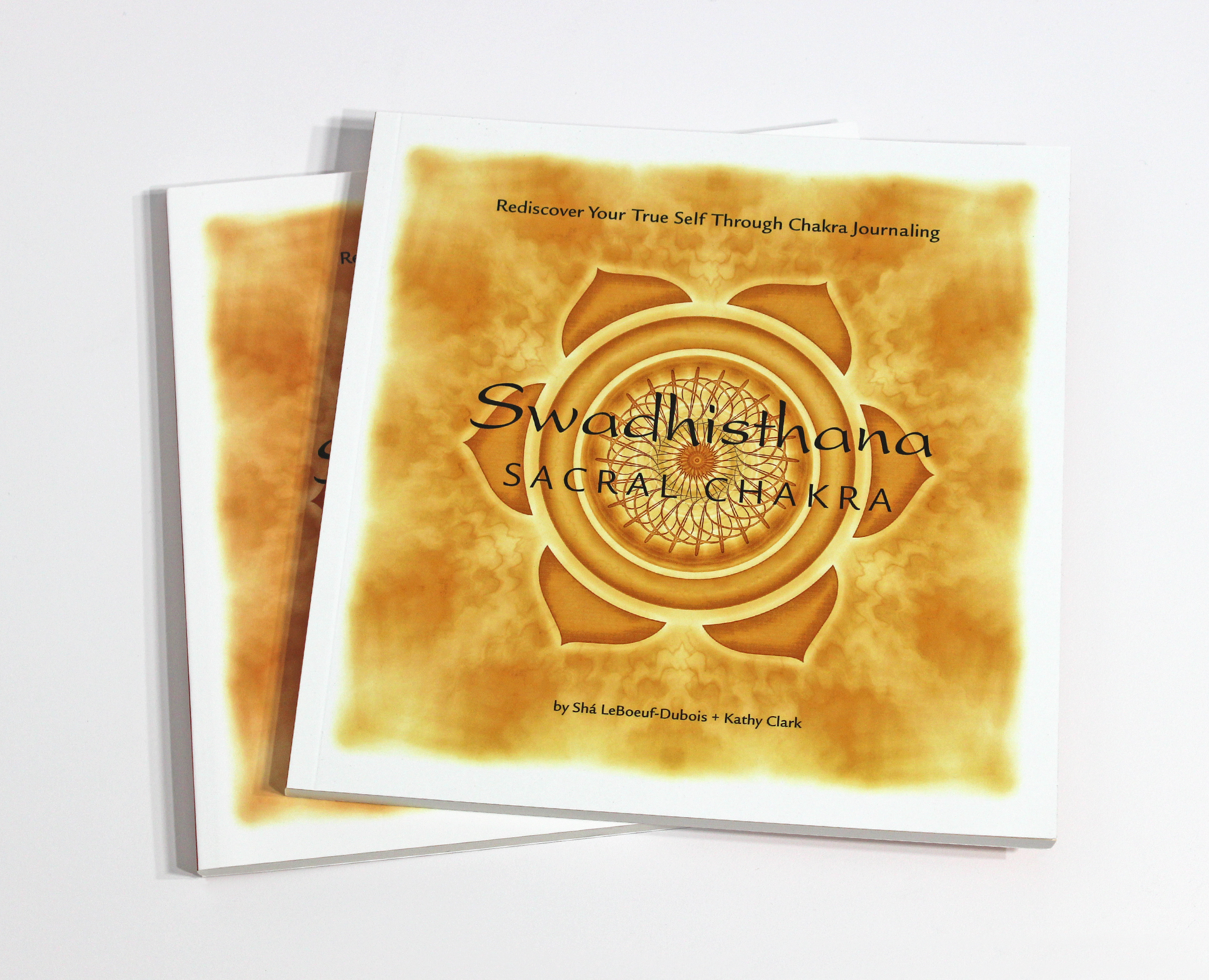 SWADHISTHARA: SACRAL CHAKRA JOURNAL - $24  Exploring the mysterious energy center of Swadhisthara, learn to live a creative life, and rediscover your true self through chakra journaling.