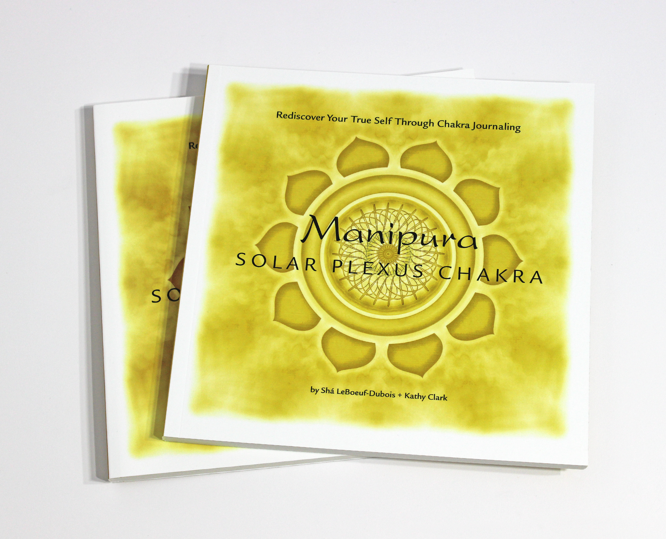 MANIPURA: SOLAR PLEXUS CHAKRA JOURNAL - $24  Exploring the mysterious energy center of Manipura, learn to live a playful life, and rediscover your true self through chakra journaling.