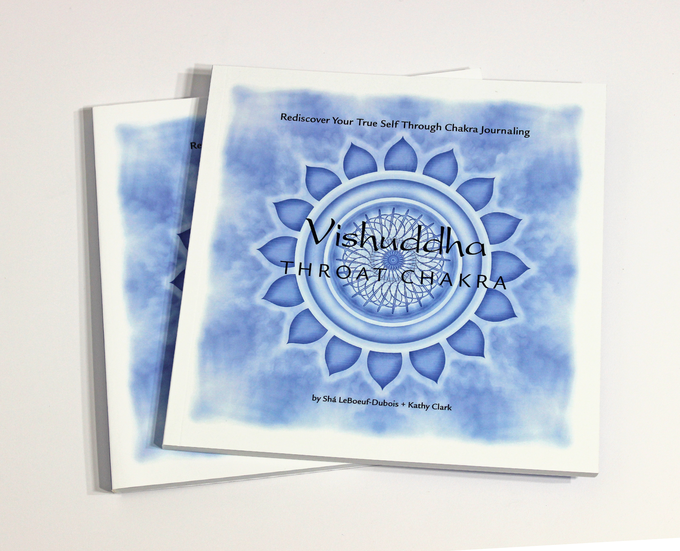 VISHUDDHA: THROAT CHAKRA JOURNAL - $24  Exploring the mysterious energy center of Vishuddha, learn to live a authentic life, and rediscover your true self through chakra journaling.