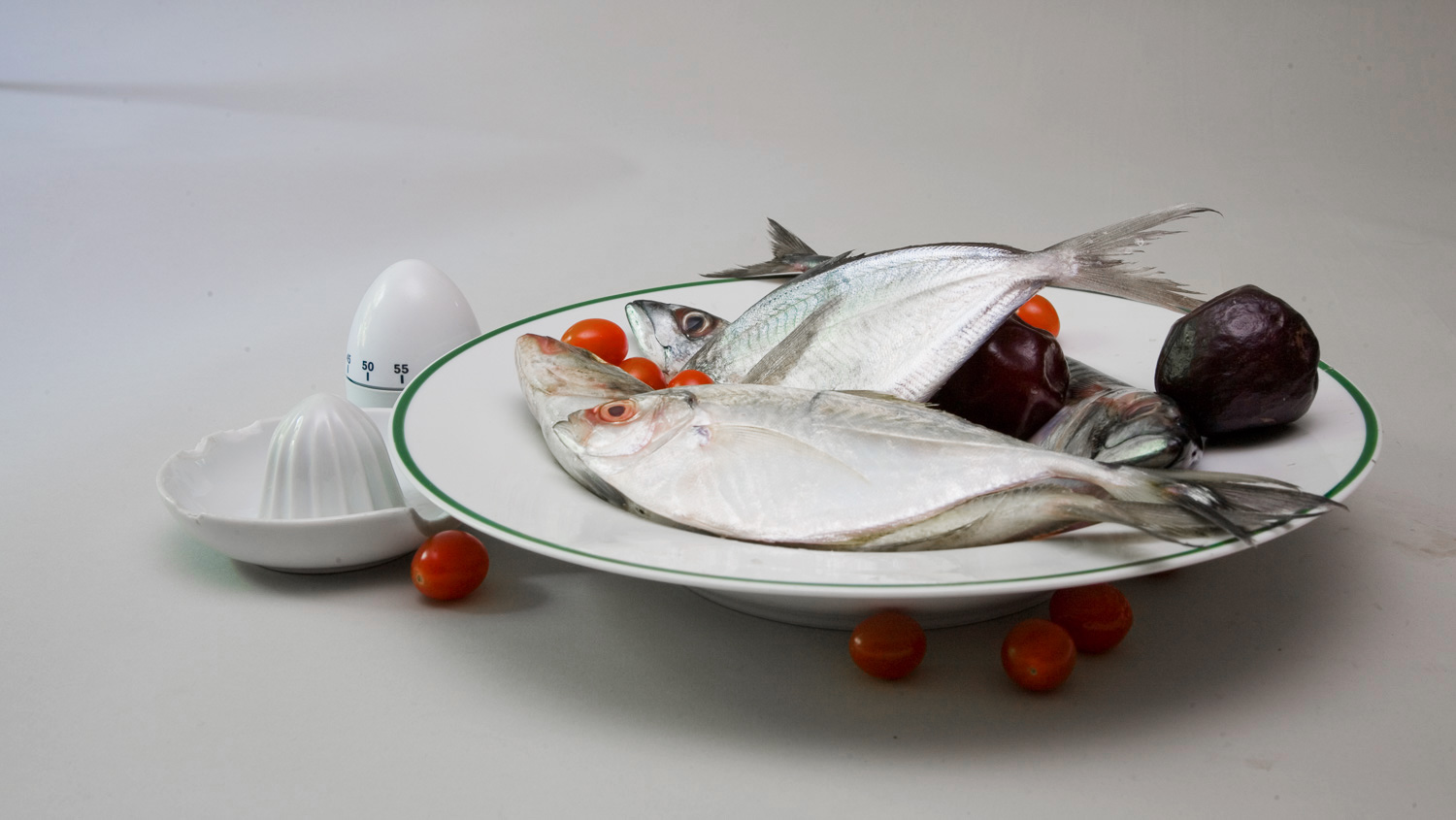 Although it is very hot today my Butterfish,Mackerel and the Blue Runner appear to be fresh and wholesome.