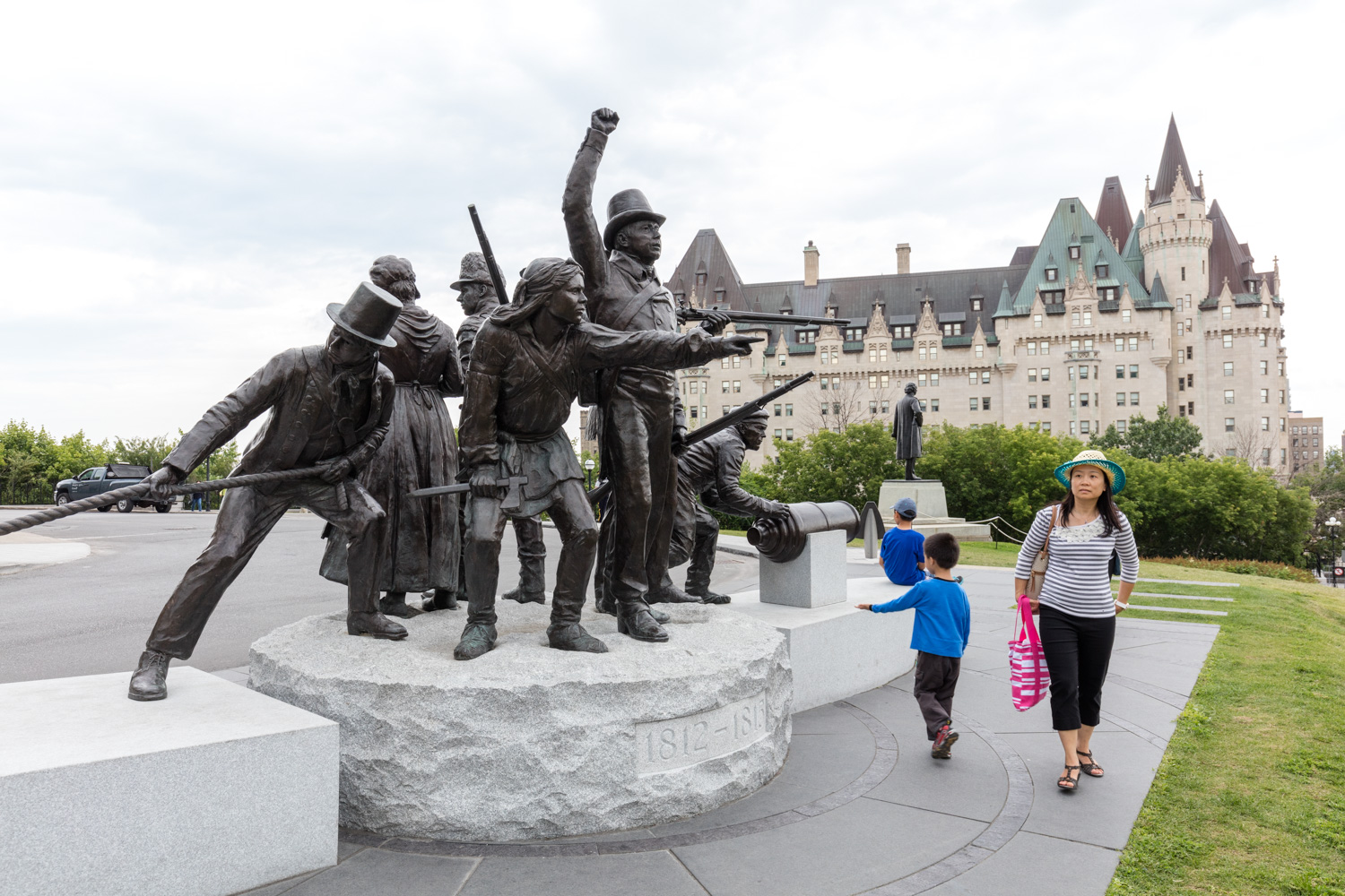 """War of 1812 Monument, Triumph Through Diversity"""