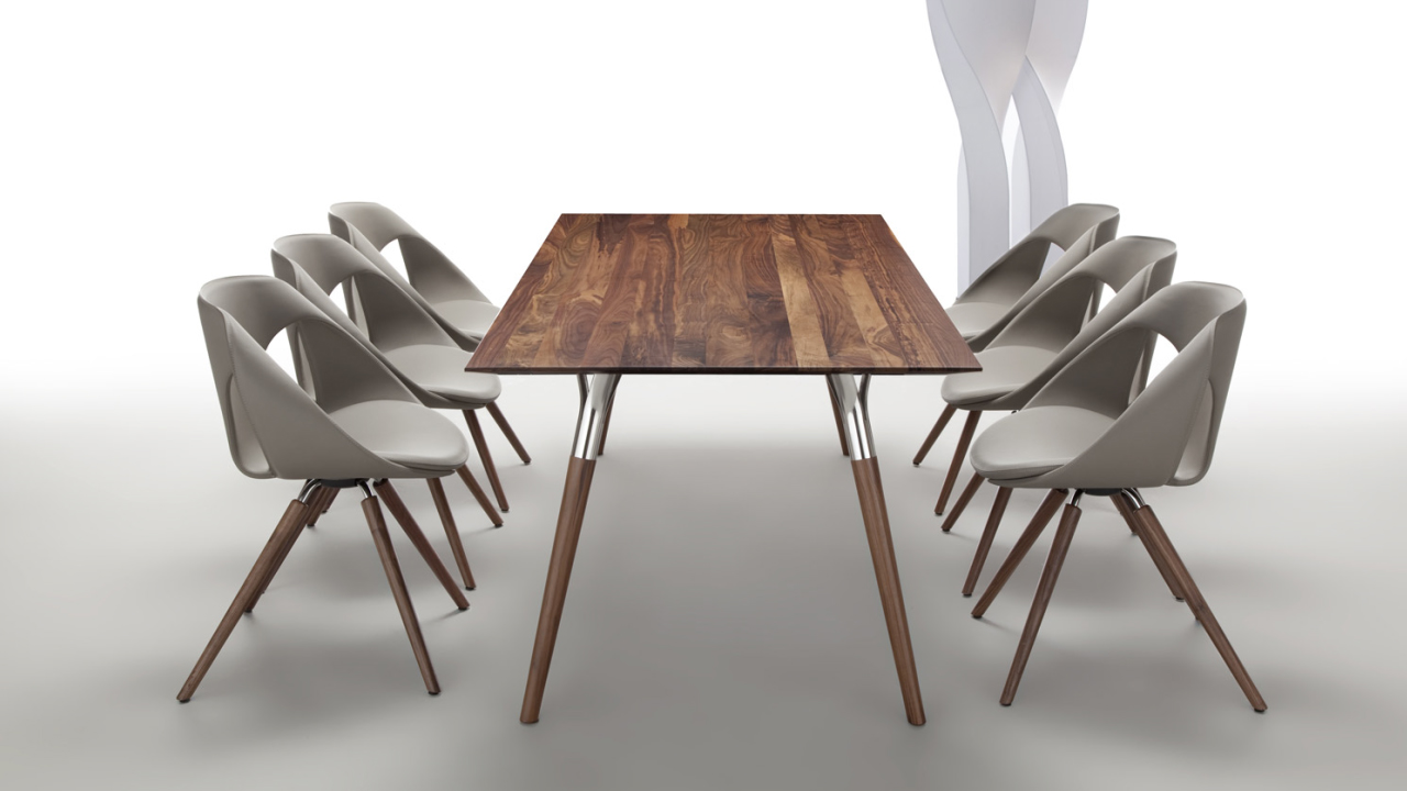Tisch Salt & Pepper - Up Chair in Leder
