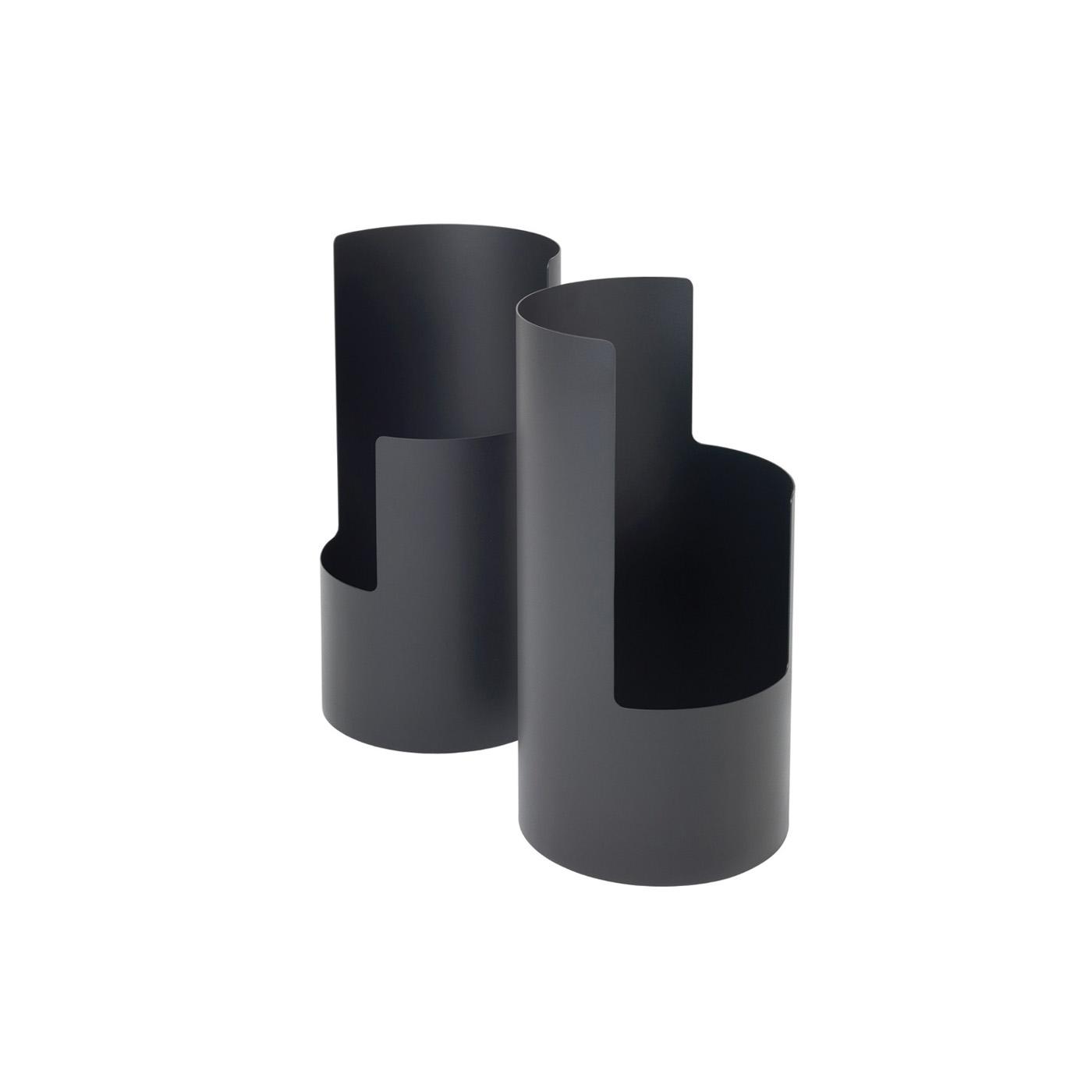 Schirmständer 0550  CHF 330.00 Höhe 50 cm, Metal pulverbeschichtet schwarz
