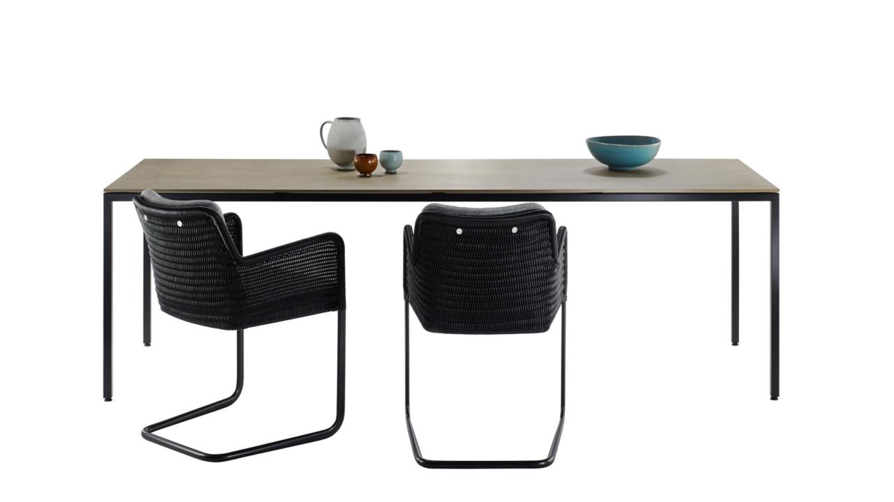 Tisch M38 + Sessel D43