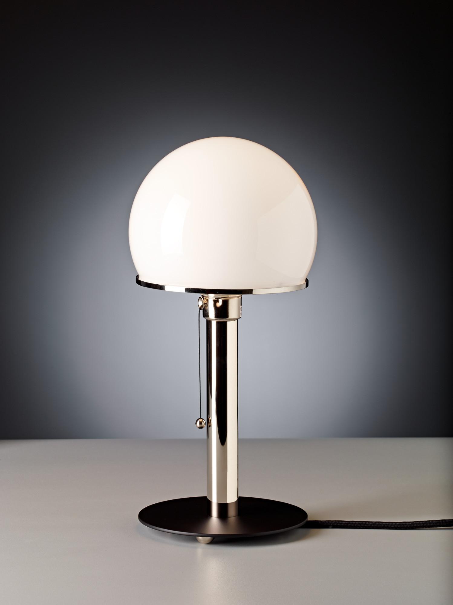 Tischleuchte WAGENFELD  CHF 525.00 Höhe 36 cm Auch erhältlich mit Alu- oder Glasfuss