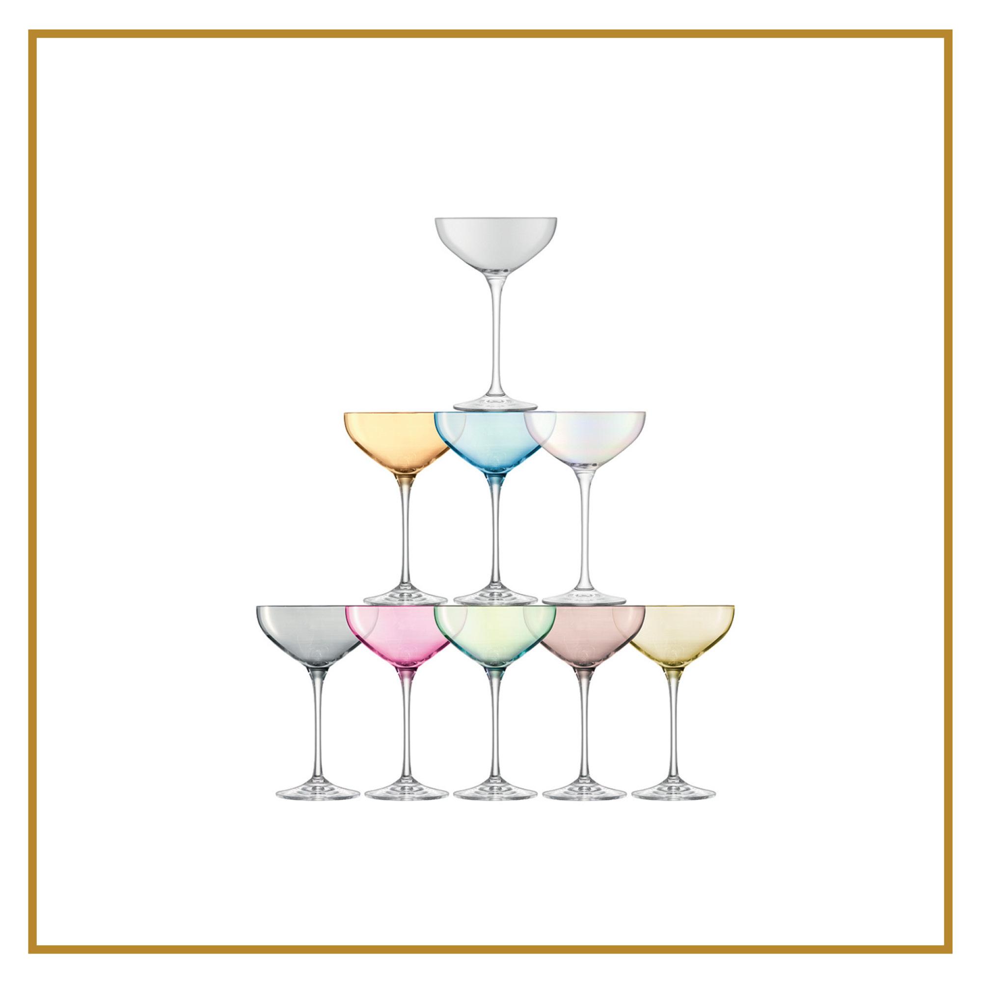 Champagne Tower  CHF 120.00 Set bestehend aus 10 Stück, assortiert
