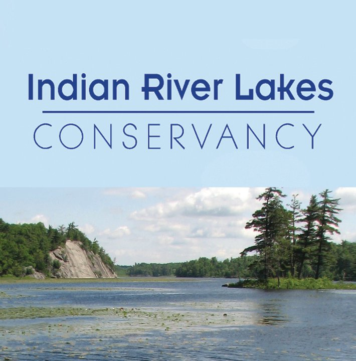 ONSITE WORKS WITH THE INDIAN RIVER LAKES CONSERVANCY.