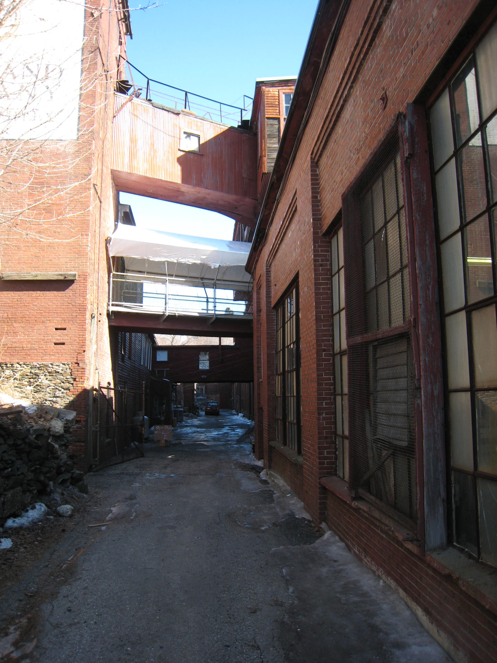 Portland Co - Between Building 1 and 24 - March 2014.JPG