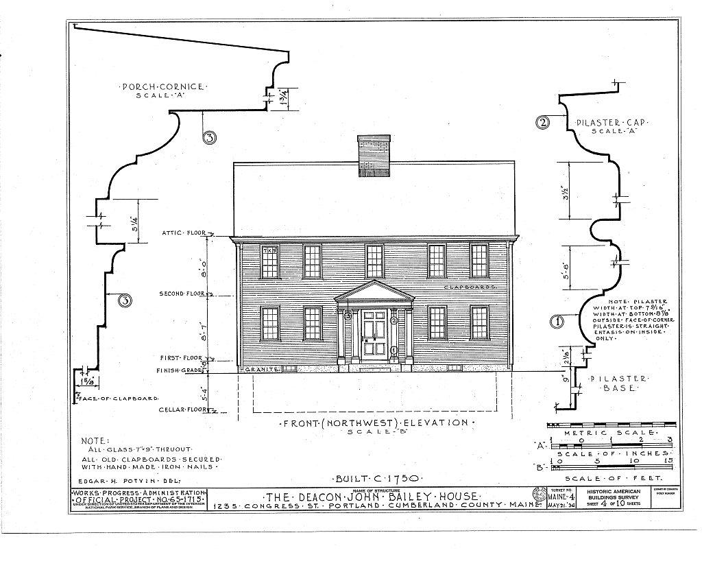 HABS Illustration, Bailey House, 1934.jpg
