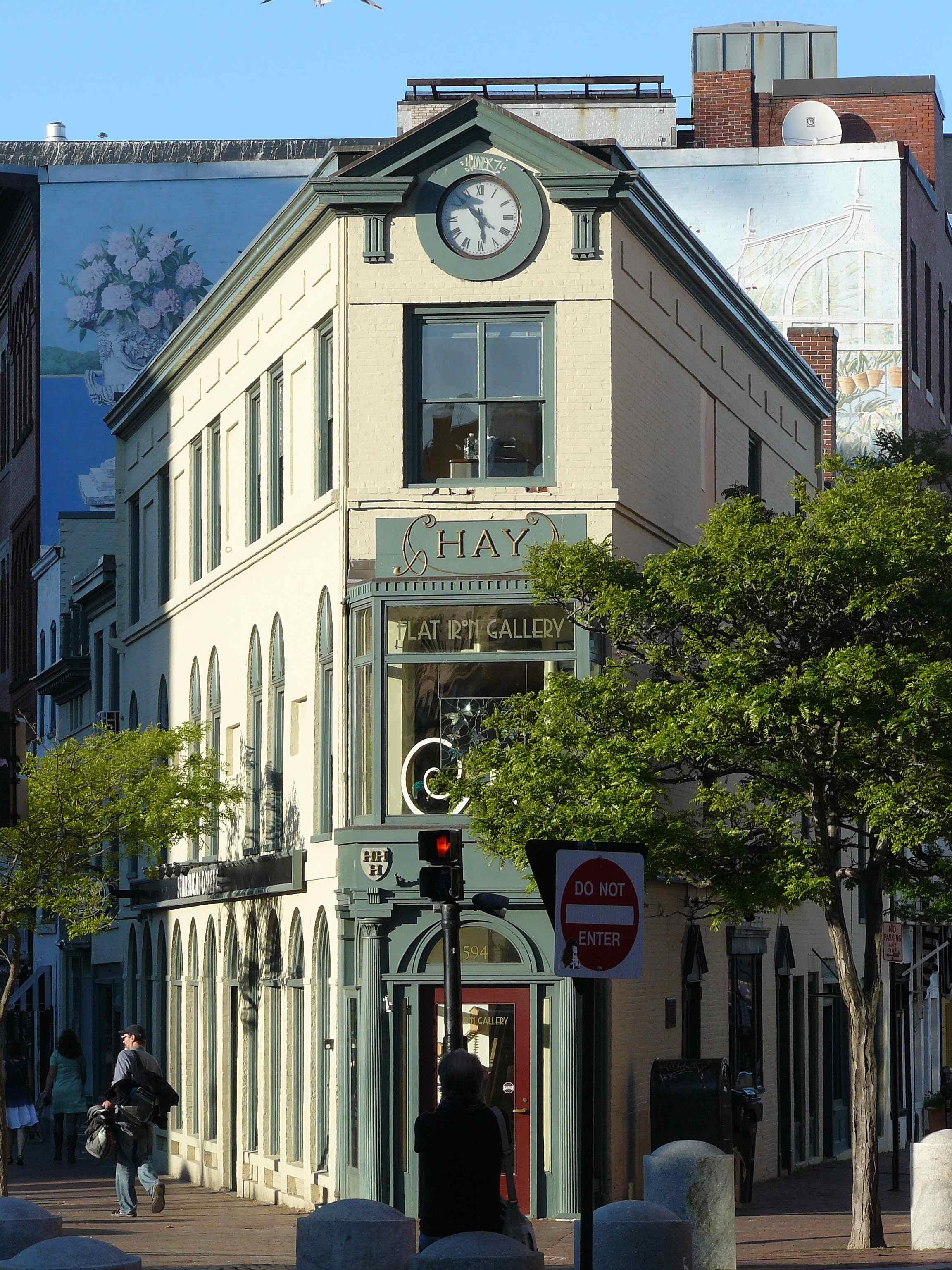 H.H. Hay Building, Congress Square, Portland