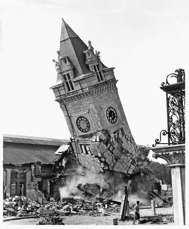 Portland's Union Station, Demolished 1961