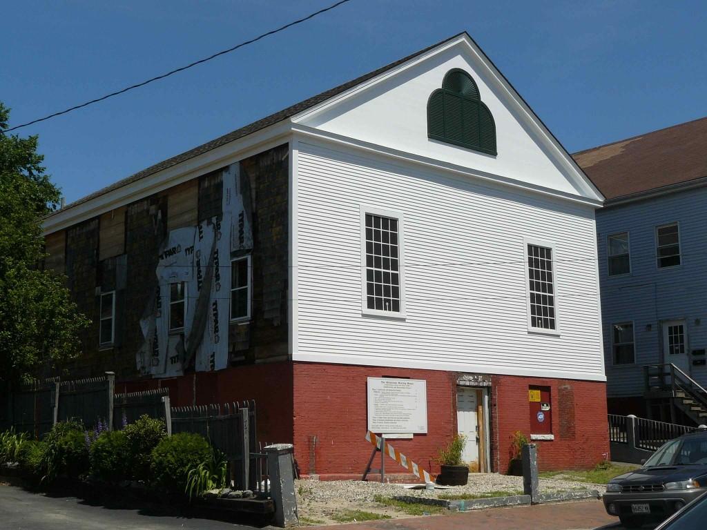 Abysinnian Church, 75 Newbury Street -1828