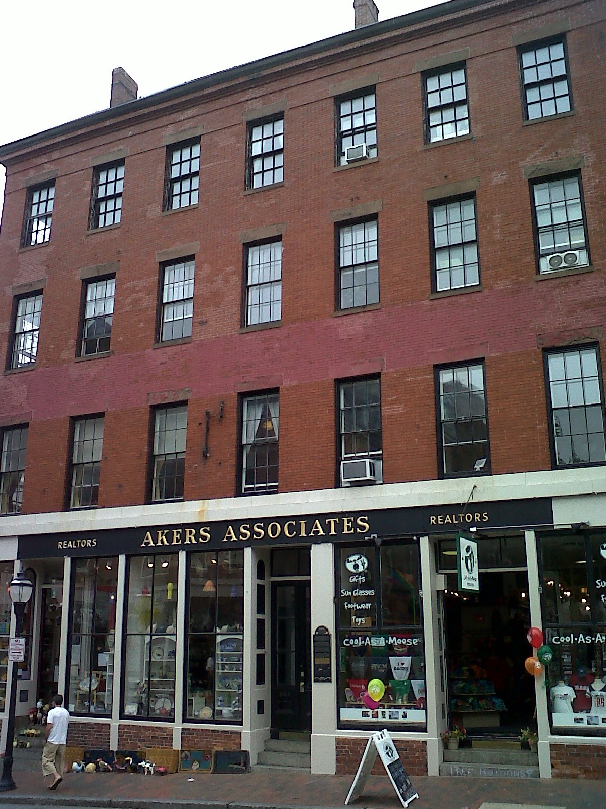 Thomas Chadwick & William Duran Block, 384-392 Fore Street -1854