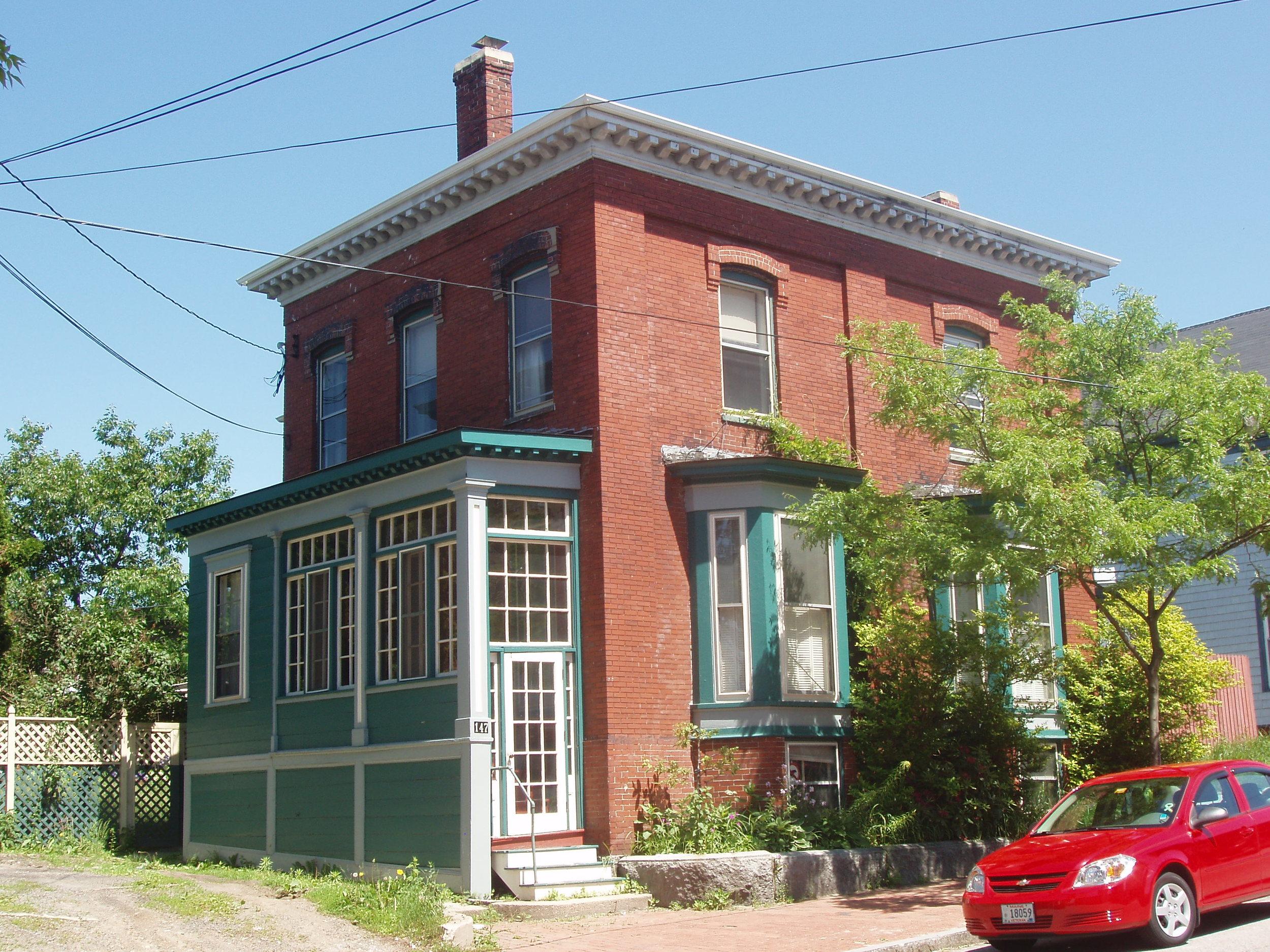 Ann Freeman House, 147 Congress Street- Built in 1857