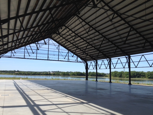 Thompsons Point - Former Union Station Train Shed 2014.jpg
