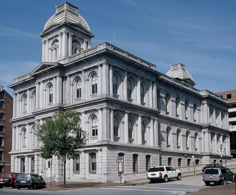 US Custom House Restoration, 2014