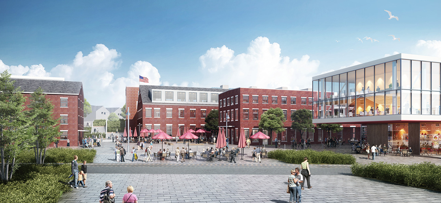 Image of the Portland Company Historic District by Perkins + Will Global from CPB2