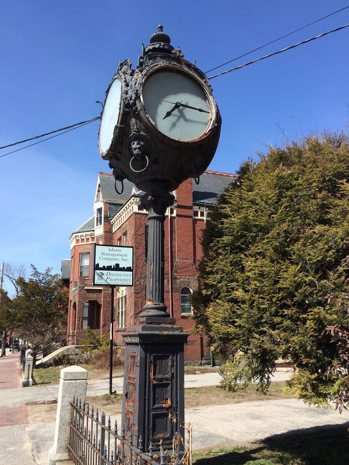 Hay & Peabody's Seth Thomas Clock