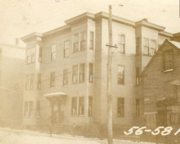 56-58 Federal Street in 1924