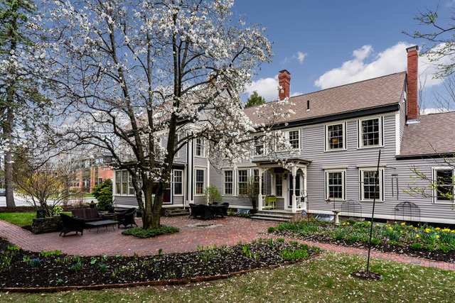 The Forbes-Webber House    in Portland, a historic home built in 1835