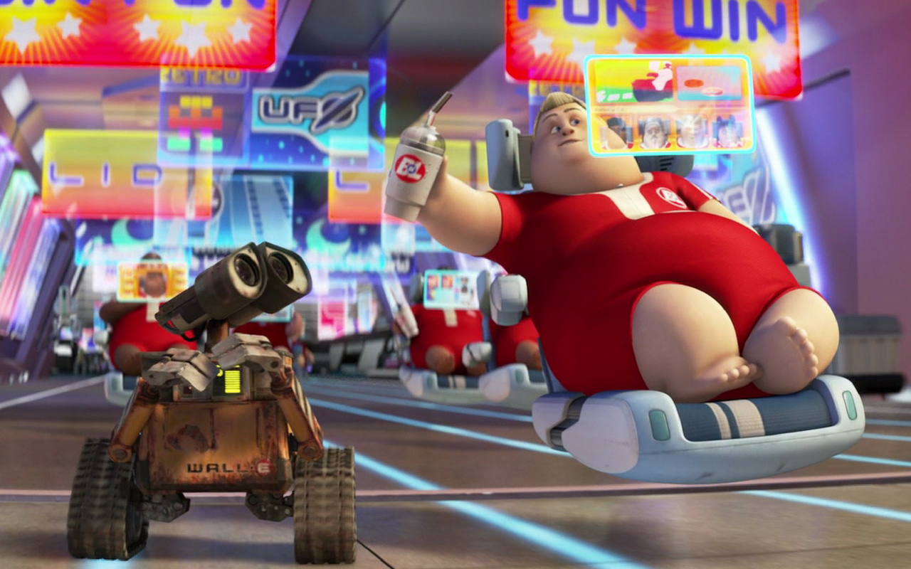 (image from: www.newstatesman.com/culture/film/2016/09/list-ways-our-society-already-pixar-s-dystopia-wall-e)