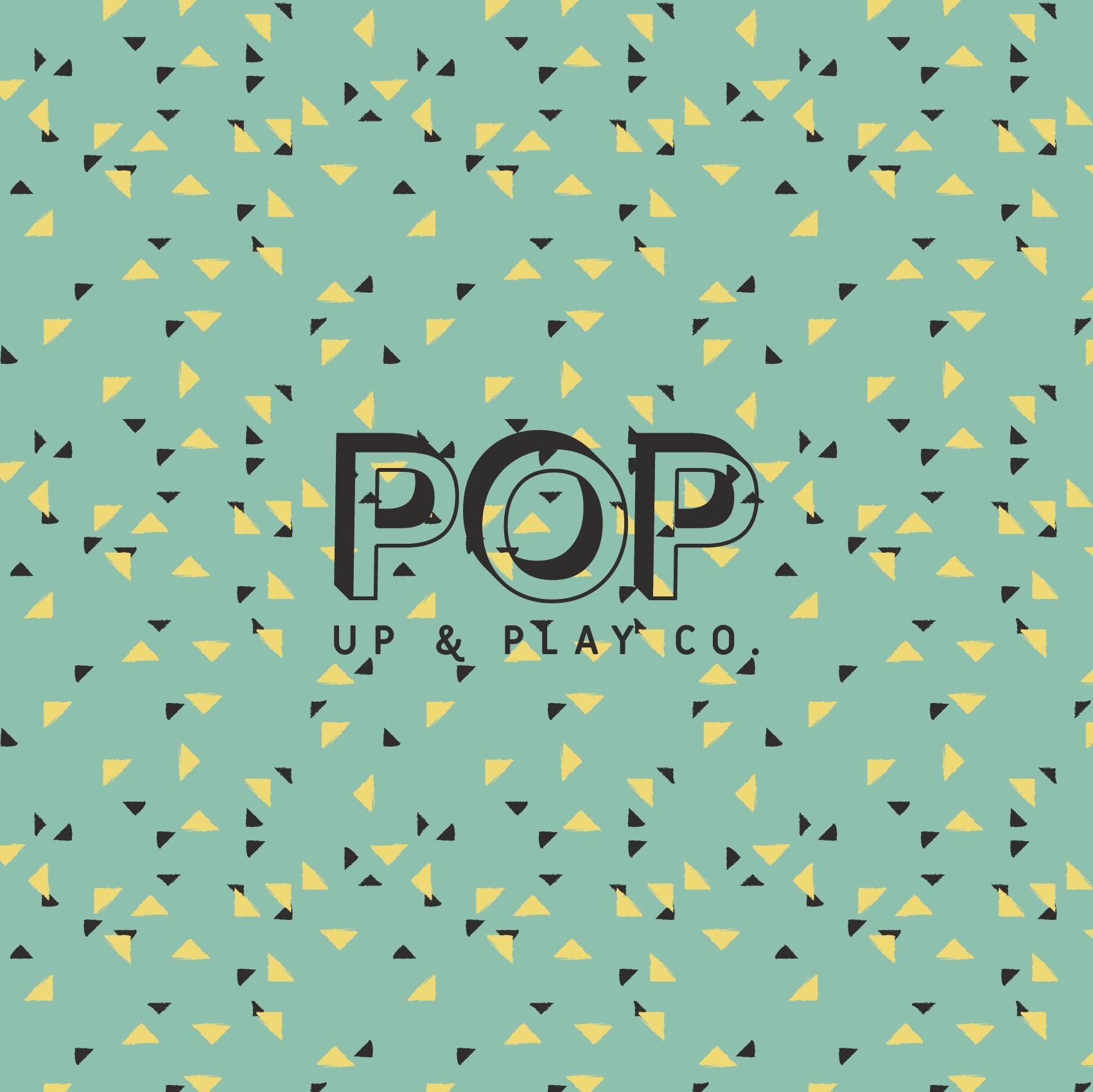 Pop Green Triangle Pattern Sq@2x.png